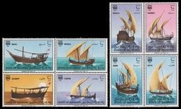 Bahrain 1979 - Mi-Nr. Mi.Nr. 284-291 ** - MNH - Schiffe / Ships - Bahreïn (1965-...)