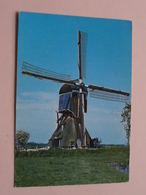 VLIST Molen Van De Polder Bonrepas / WIPMOLEN ( Vita Nova ) Anno 1975 ( Zie/voir Photo ) Molen / Moulin / Mill ! - Nederland