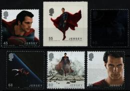 "Jersey 2013 - Mi-Nr. 1738-1743 ** - MNH - ""Man Of Steel"" - Jersey"