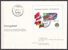 DDR - 1980 - Michel Nr. Block 58 - FDC - 25 Euro - DDR