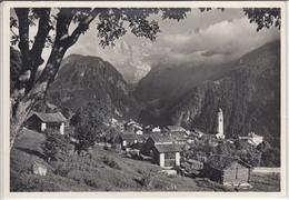 SOGLIO GR  Auf Sonniger Terasse , Panorama - GR Grisons