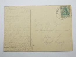 1915 , HARPERSDORF,  Klarer Stempel Auf   Karte - Deutschland