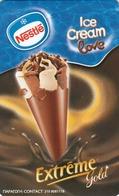 GREECE - Nestle Ice Cream 2 Extreme Gold ,x1899, Tirage 35.000, 07/05, Used - Grèce