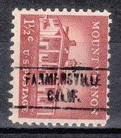 USA Precancel Vorausentwertung Preo, Locals California, Farmesville 748 - Vorausentwertungen