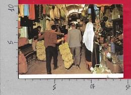 CARTOLINA VG ISRAELE - JERUSALEM - Bazaar - 10 X 15 - ANN. 1999 - Israele
