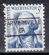 USA Precancel Vorausentwertung Preo, Locals California, Farmesville 841 - Préoblitérés