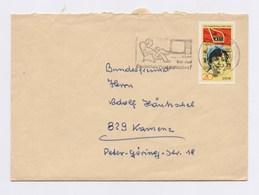 MWSt - GÖRLITZ, Aber Bei Der Deutschen Post Anmelden! EF 1677 Auf Brief Mit Inhalt 1972 - [6] Democratic Republic