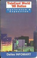 USA: Multimedia Publishing - TeleCard World '98 Exposition Dallas - Etats-Unis