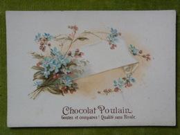 Bon Ensemble De 10 Chromo Gaufrée, Fleurs, Angelots....XIXème - Poulain
