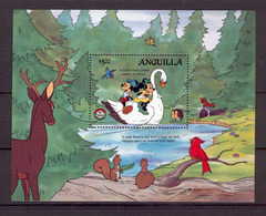 Disney Anguilla 1985 The Brothers Grimm Hansel And Gretel MS MNH - Disney