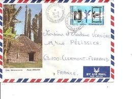Nouvelle -Calédonie ( Lettre Illustrée Par Avion De 1976 De Pouembout Vers La France à Voir) - Nouvelle-Calédonie