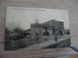 CPA 30 Gard Saint Cézaire De Gauzignan Moulin De Madame BE - Autres Communes