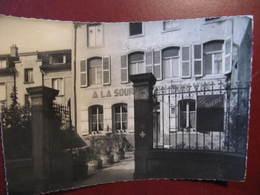 CPSM - SCY CHAZELLES - CAFE GERARD ECK - A LA SOURCE DU BON VIN - Photo JEAN LIROT - Autres Communes
