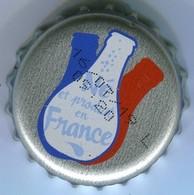 CAPSULE-ORANGINA-NE ET PRODUIT EN FRANCE Fond Argent - Soda