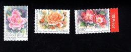 702007114 BELGIE POSTFRIS MINT NEVER HINGED POSTFRISCH EINWANDFREI  OCB  3383 3384 3385 GENTSE FLORALIEN - Unused Stamps