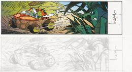 Marque Page BD Pour SYLVIO Par LUGUY (signé) - Marque-pages