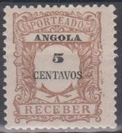 Angola Portomarken P25 5 C Ungebraucht - Angola