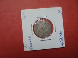 AUTRICHE 20 KREUZER 1870 ARGENT (A.2) - Autriche