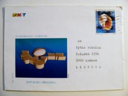 Cover Sent From Croatia 1997 Shell - Croatia