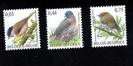 702008371 BELGIE POSTFRIS MINT NEVER HINGED POSTFRISCH EINWANDFREI  OCB  3389 3390 3391 BUZIN VOGELS BIRDS - Nuevos