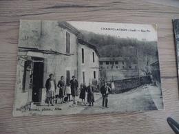 CPA 30 Gard Champclauson Rue Pic  BE - Autres Communes