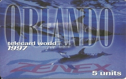 USA: Zenex Communications - TeleCard World '97 Exposition Orlando - Vereinigte Staaten
