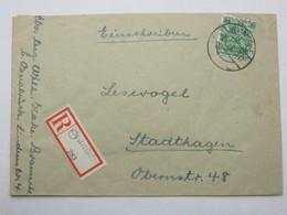 1948 , BRAMSCHE  , Einschreiben - Bizone