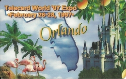 USA: Worldwide Digital - TeleCard World '97 Exposition Orlando - Vereinigte Staaten