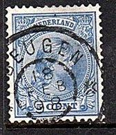 Grootrond BEUGEN (N.Br.) 19.1.1898 Thin Spot (489) - Poststempels/ Marcofilie