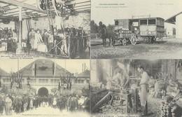 LOT DE 24 REPRODUCTIONS DE CARTES POSTALE ANCIENNES DIVERSES SUR L'INDUSTRIE FRANCAISE - Postcards