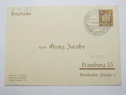 1926 , NORDHAUSEN - 1000 Jahre Stadt  , Seltener Sonderstempel Auf Privatganzsache - Briefe U. Dokumente