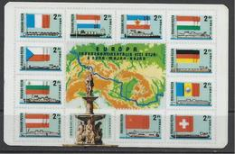 Hungary,  Rhine-Main-Danube Canal On Stamps, Post Ad,  1979. - Calendriers