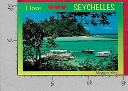 CARTOLINA VG SEYCHELLES - MAHE - Moyenne Island - 10 X 15 - ANN. 2000 - Seychelles