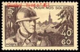 France N°  451 ** Soldat, Militaire, Fantassin Et Cathédrale De Strasbourg - France