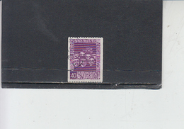 SVEZIA  1960 - Unificato 449° - Rifugiato7 - - Sweden
