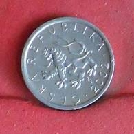 CZECH REPUBLIC 10 HALERU 2002 -    KM# 6 - (Nº27271) - Tchéquie