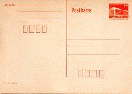 "DDR Amtl. GZS-Postkarte P86 II 10Pf. Orange ""Palast Der Republik, Berlin"" Ungebraucht - DDR"