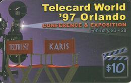 USA: Teltrust - TeleCard World '97 Exposition Orlando - Etats-Unis