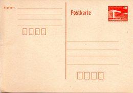"DDR Amtl. GZS-Postkarte P86 I 10Pf. Orange ""Palast Der Republik, Berlin"" Ungebraucht - DDR"