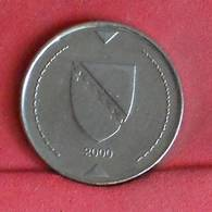 BOSNIA-HERZEGOVINA 1 MARKA 2000 -    KM# 118 - (Nº27276) - Bosnien-Herzegowina