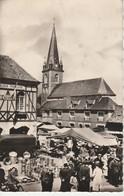 76 - LUNERAY - Le Marché - France