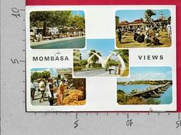 CARTOLINA VG KENYA - MOMBASA - Views - Vedutine Multivue - 10 X 15 - ANN. 1984 - Kenia
