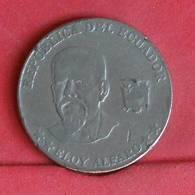 ECUADOR 50 CENTAVOS 2000 -    KM# 108 - (Nº27277) - Equateur