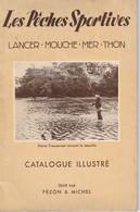 Livre Les Péches Sportives Par Pezon Et Michel 1953 - Books, Magazines, Comics