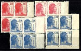 España Nº 751/54  En Nuevo - 1931-50 Nuevos & Fijasellos