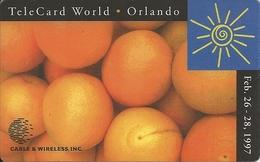USA: Cable & Wireless - TeleCard World '97 Exposition Orlando - Etats-Unis