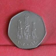 UNITED ARAB EMIRATES 50 FILS  -    KM# 16 - (Nº27280) - Emirats Arabes Unis