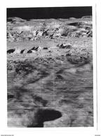 4 Photographies Anciennes De La Lune (mission Apollo Nasa) Centre Culturel Américain U.S.I.S. Paris - Reproductions