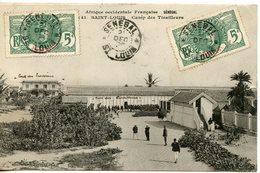 359. CPA AFRIQUE OCCIDENTALE FRANCAISE SENEGAL. SAINT-LOUIS CAMP DE TIRAILLEURS 1906 - Senegal