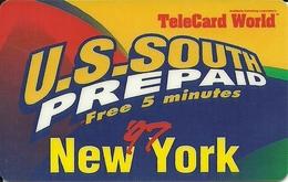 USA: U.S.South - TeleCard World '97 Exposition New York - Etats-Unis